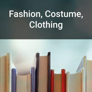 Fashion, Costume, Clothing